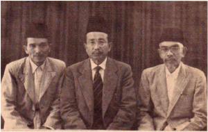 sejarah ahmadiyah indonesia - tiga serangkai
