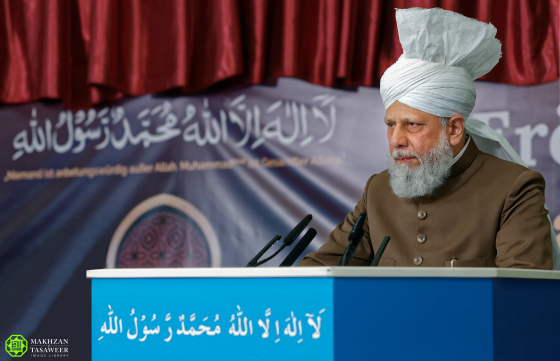 khalifah ahmadiyah meresmikan masjid di jerman