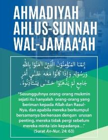 ahmadiyah ahlus sunnah wal jamaah
