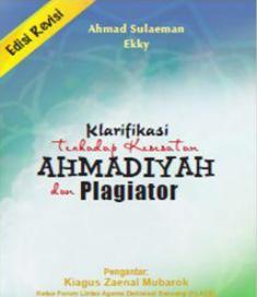 klarifikasi terhadap kesesatan ahmadiyah dan plagiator