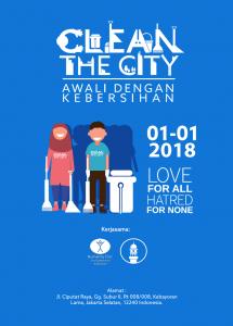 clean the city tahun baru 2018