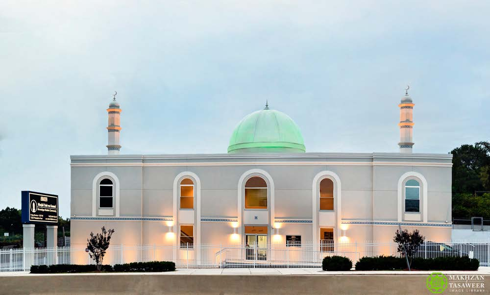 peresmian masjid baitus samad