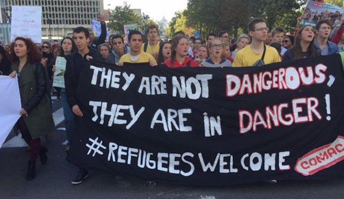 pengungsi muslim dan islam damai jerman