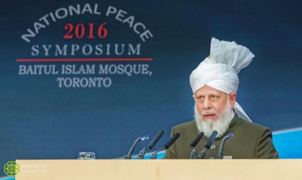 mirza masroor ahmad, keadilan perdamaian dunia