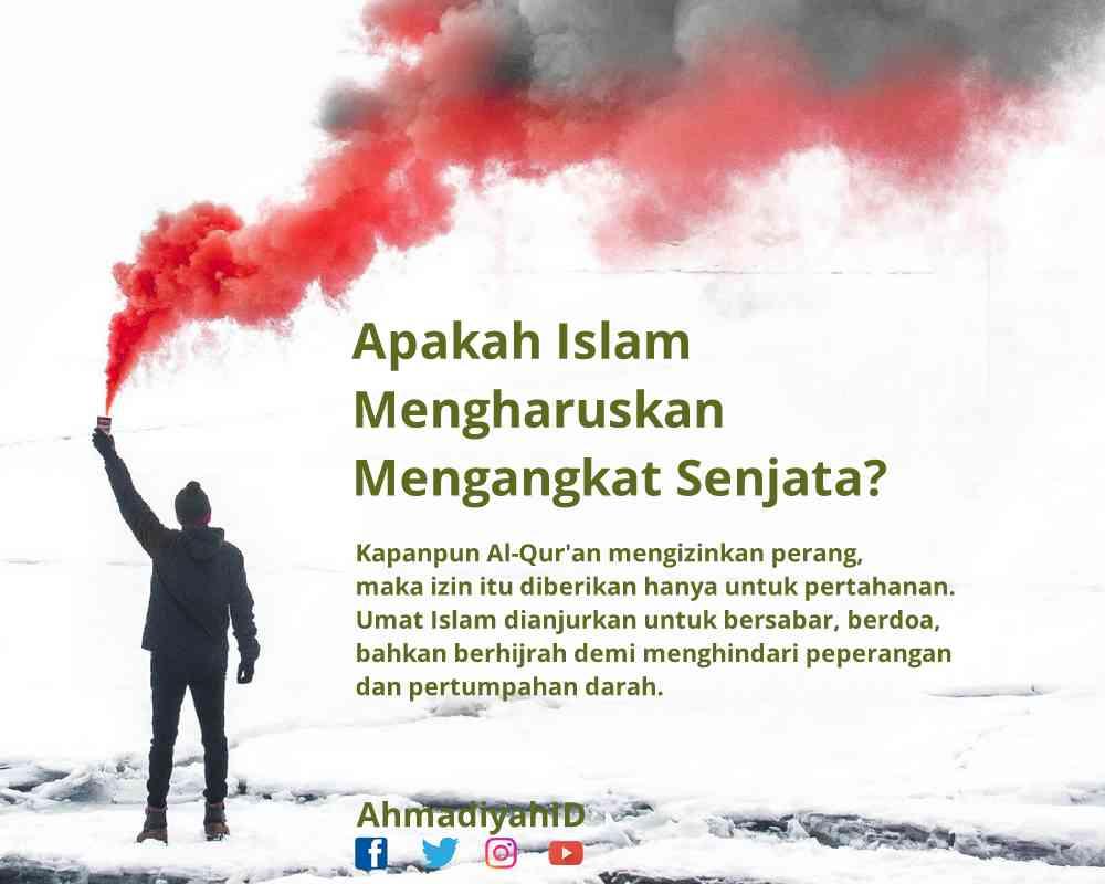 Apakah Islam Mengharuskan Umat Islam Mengangkat Senjata? jihad, terorisme