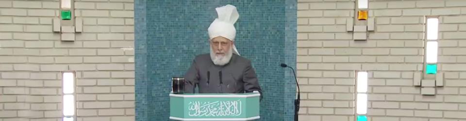 Esensi Bersyukur kepada Allah (Tugas-tugas para Ahmadi) - khutbah jumat
