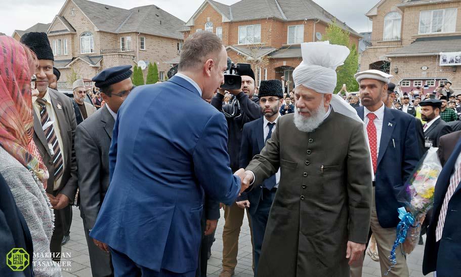 pemimpin ahmadiyah di kanada