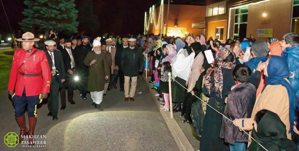 pemimpin Ahmadiyah tiba di Ottawa