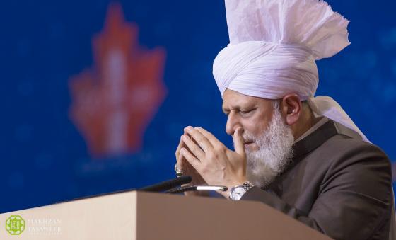 khalifah ahmadiyah berdoa