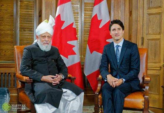 pemimpin ahmadiyah dan perdana menteri kanada