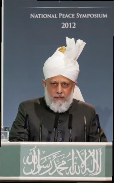 khalifah ahmadiyah pidato simposium