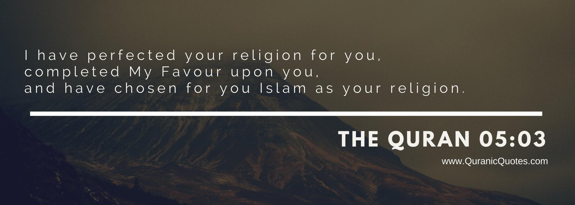 islam agama sempurna dan diridhai Allah