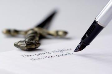 Jihad tulisan, pena dilawan pena