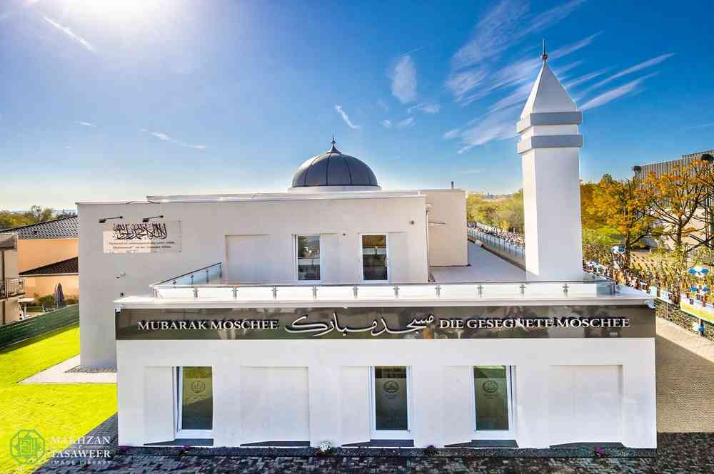 Masjid ahmadiyah Wiesbaden Jerman