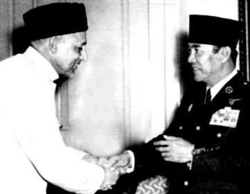 Sayyid Shah Muhammad saat berjumpa Bung Karno