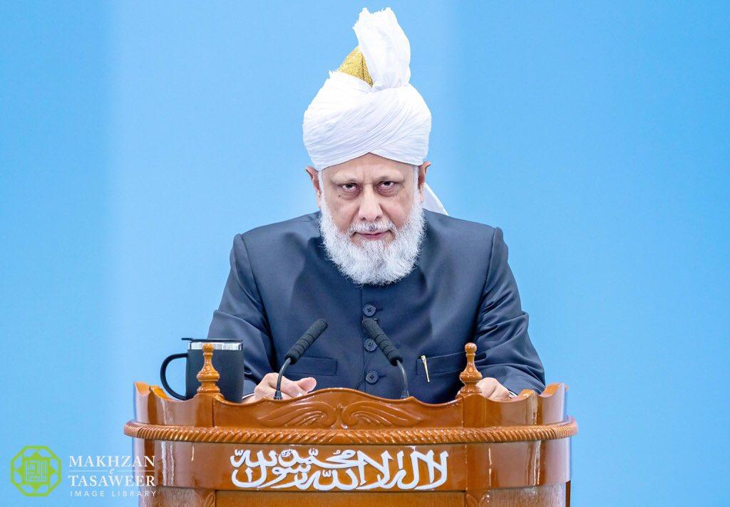 khotbah idul adha mirza masroor ahmad